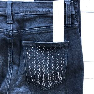Current/Elliott Jeans - Current Elliott high stiletto Jeans sultry A7